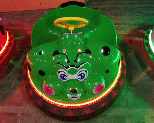 kid beetle bumper car photos with light 02