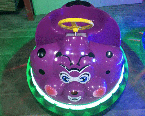 kid beetle bumper car photos with light 03