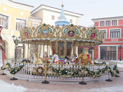 16 seats merry go round carousel for sale