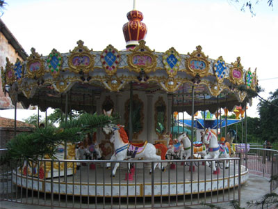 24 seats merry go round carousel for sale