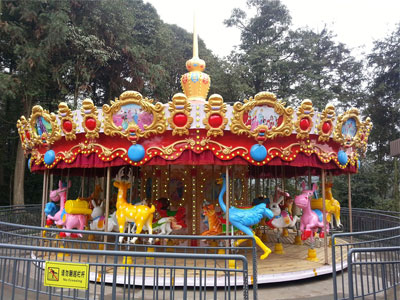 36 seats merry go carousel for sale