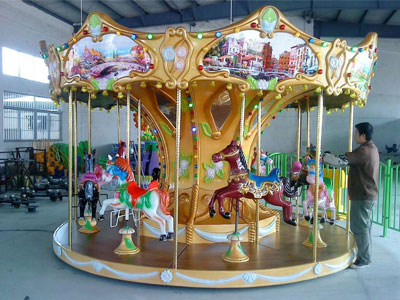 8 seats merry go round carousel for sale