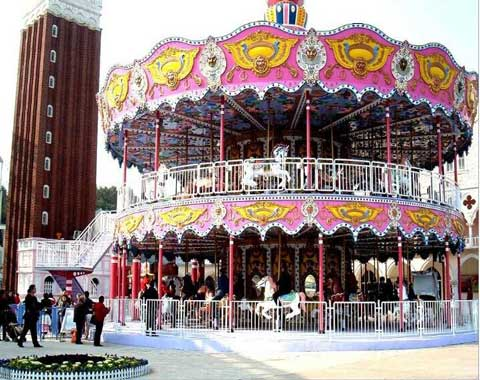 Double-decker-Carousel-for-Sale
