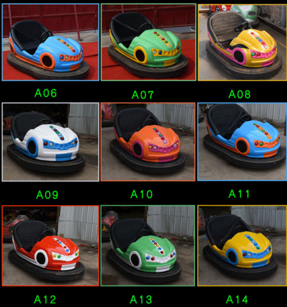 battery operated bumper car model 02
