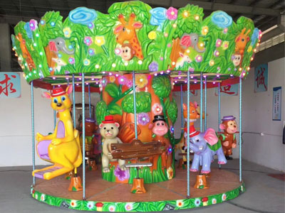 forest merry go round carousel for sale