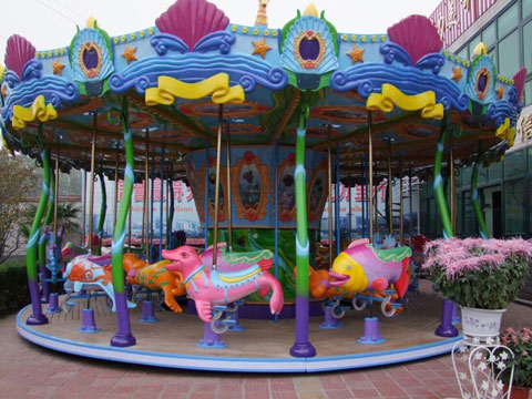 new ocean merry go round carousel for sale