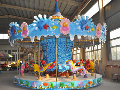 ocean merry go round carousel for sale