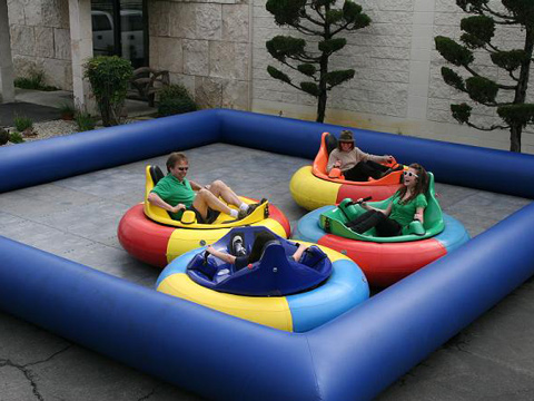 Adult inflatable bumper car for sale