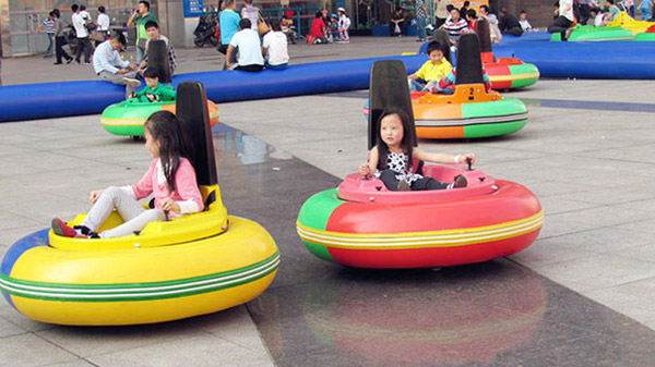 Kids Inflatable Battery Operated Bumper Car Beston Amusement