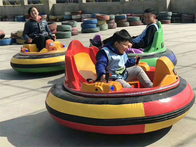 middle inflatable bumper car for sale