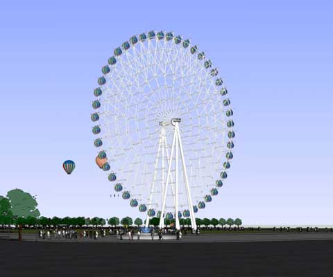 72m ferris wheel for sale