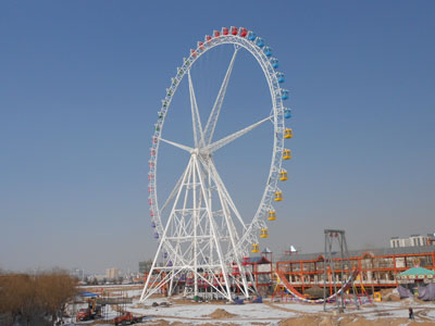 88 m ferris wheel ride manufacturer and supplier
