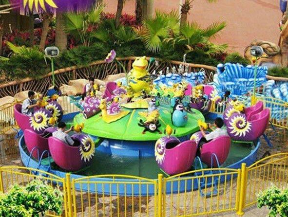 Beston Kddie Carnival Rides: Attractive Kids Amusement Snail War Rides
