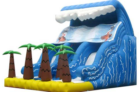 bis-052-tidal-wave-inflatable-water-slide-with-trees-for-sale