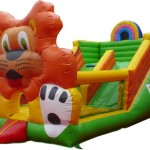 bis-108-cheap-inflatable-dancing-lion-bouncer-and-slide-for-sale