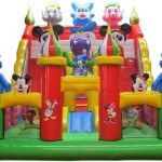 bis-111-blue-cat-inflatable-bouncy-castle-with-slides-for-sale