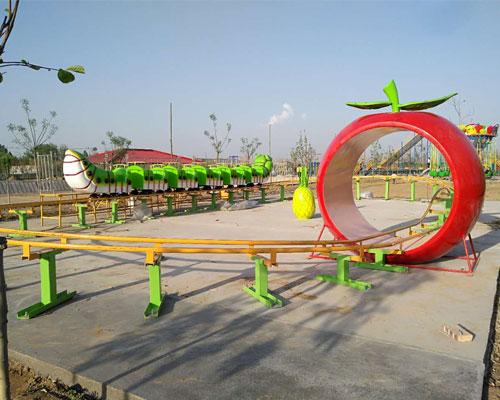 Beston worm roller coaster installation in South Africa