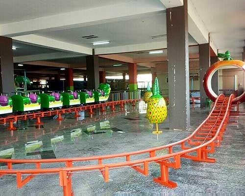 Beston worm roller coaster installation in Uganda