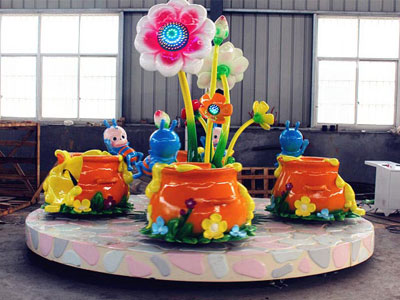 Flower Tea Cup Ride For SaleBee Paradise