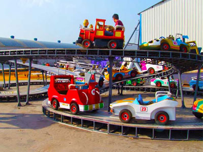 Mini Roller Coaster Ride For Kids