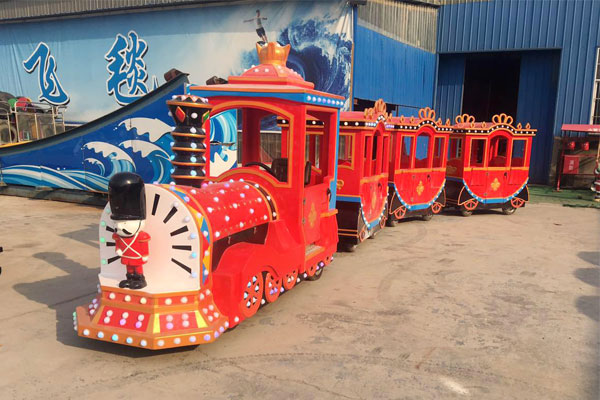 Soldier trackless train ride for sale