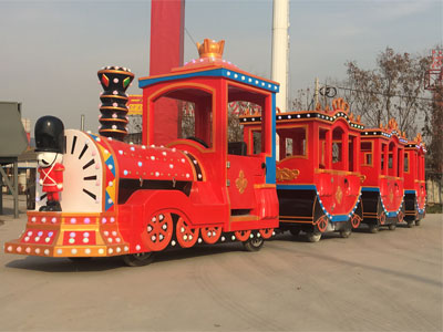 Soldier trackless train ride for sale 04
