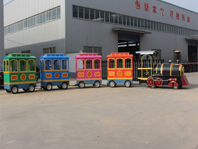 Trackless Train Rides For Sale-FRP