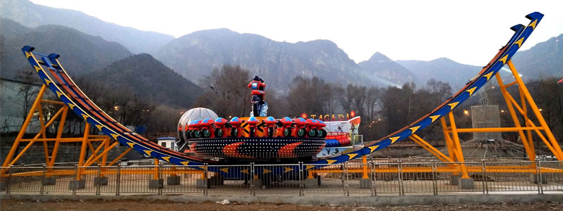 flying ufo ride manufacturer