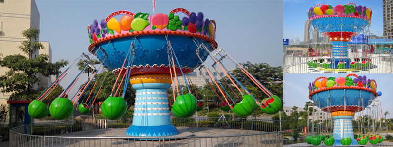fruit wave swinger ride for sale