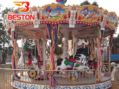 merry go round ride manufacturer
