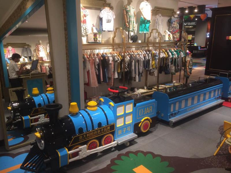 mini mall track train for sale