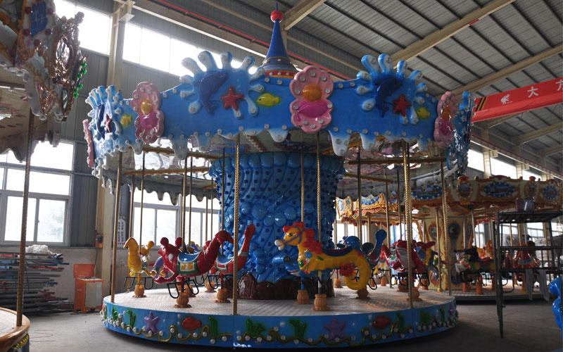 ocean carousel horse manufacturer