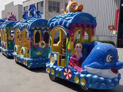 ocean trackless train for sale 01