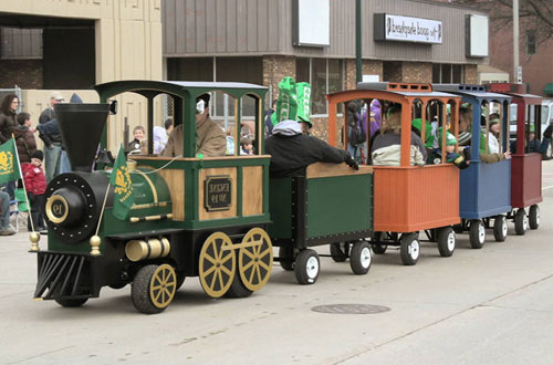park tourist trackless train for sale
