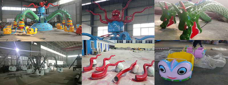 rotary octopus rides manufacturer