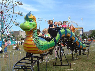 sliding dragon roller coaster for sale 04