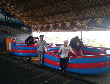 Beston Mechanical Bull Ride In Vietnam