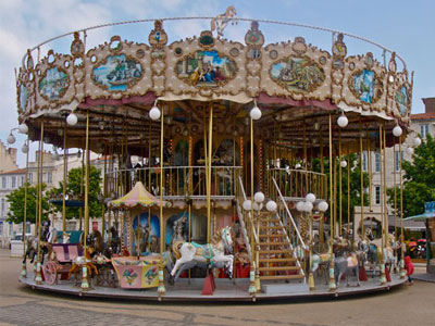 Double Decker Carousel RideFor Sale