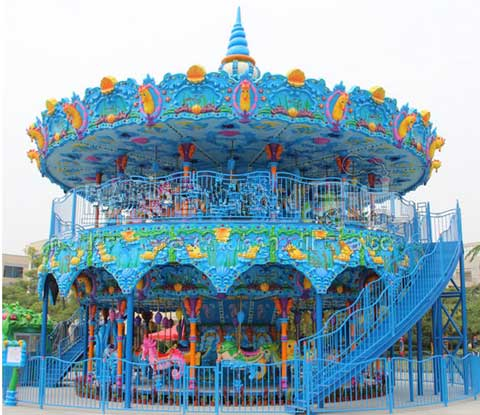 ocean-double-decker-carousel-for-sale