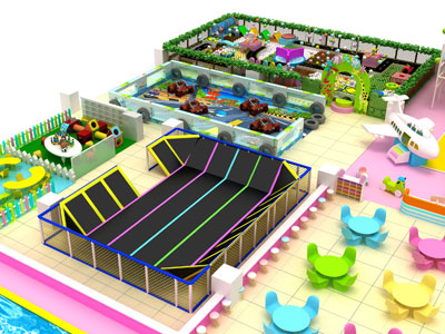 Kids fun indoor playground naughty castle 12