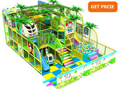 Kids fun indoor playground naughty castle 003