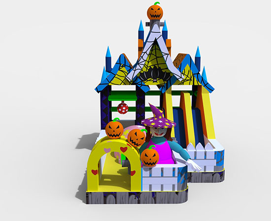 Inflatable-witch-castle