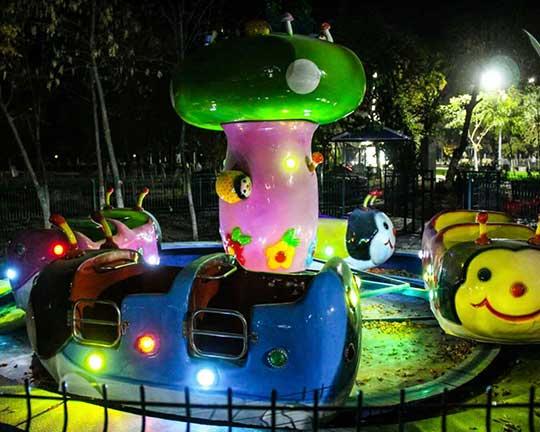 Beston Ladybug Amusement Rides in Uzbekistan Park