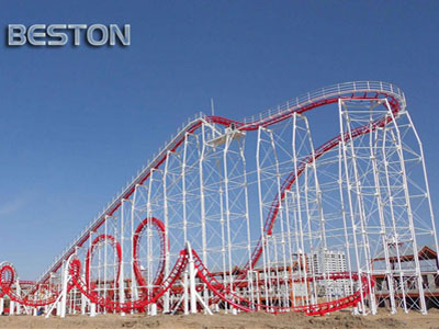 3-loop Roller Coaster For Sale
