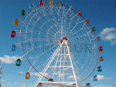 42 m ferris wheel ride manufacturer and supplier