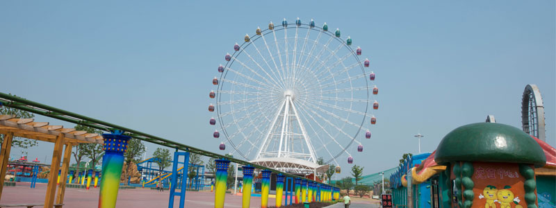 65 meter ferris wheel ride manufacturer