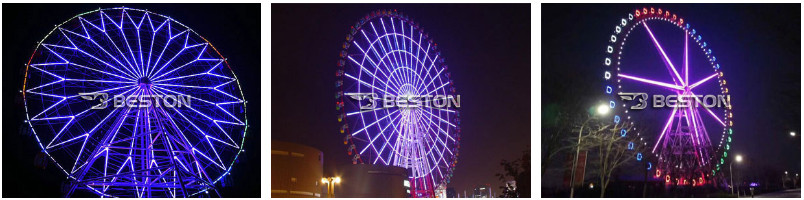 65m ferris wheel with light for sale