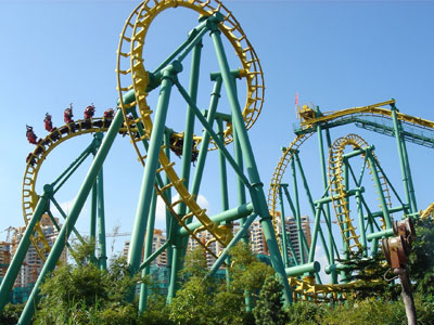 beston suspended roller coaster ride supplier