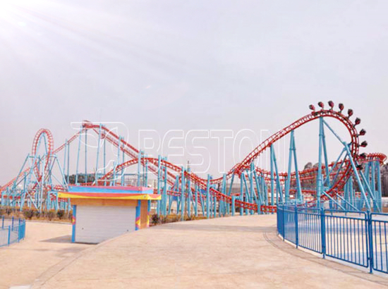 7 rings roller coaster rides for sale