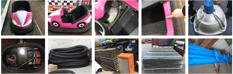 ground grid bumper car detailed photo for sale